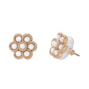 Stella & Dot Flower Earrings